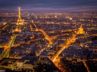 Paris du haut de la Tour Montparnasse
